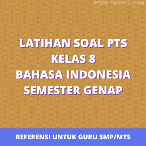 gambar soal pts kelas 8 bahasa indonesia