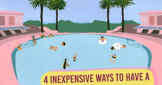 4 Inexpensive Ways to have a Productive Summer