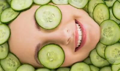 Tips Hemat Untuk Merawat Kulit Wajah Dengan Masker Buatan Dari Timun