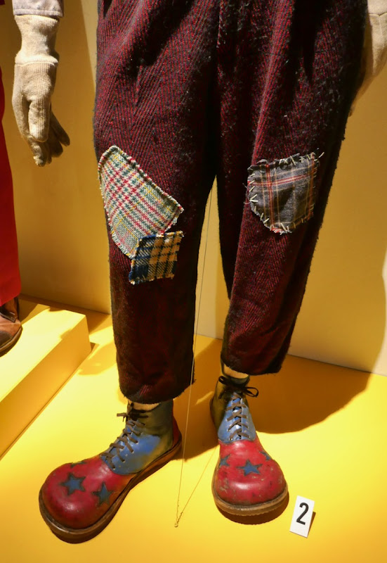 Joker movie clown costume legs and shoes