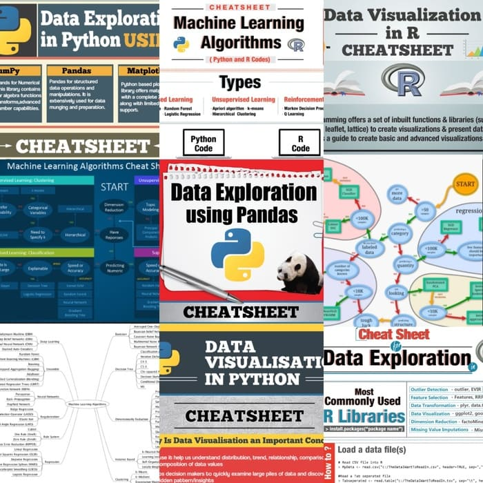 Data Science and Machine Learning Cheat Sheet