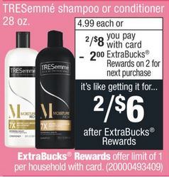 Tresemme Shampoo Or Conditioner
