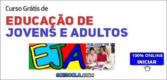 Curso grátis de Educação de Jovens e Adultos