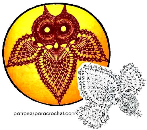 como tejer una lechuza al crochet | Buhos tejidos al crochet ... | 454x512
