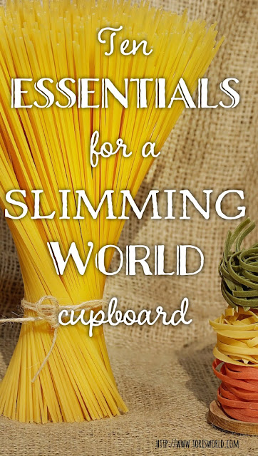 The ten essential items you need to never fall off plan on Slimming World #slimmingworld #healthyeating #food
