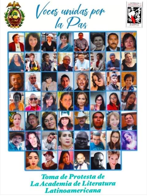 Afiche de Voces Unidas por la paz