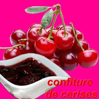 prépérétion recette confiture de cerises