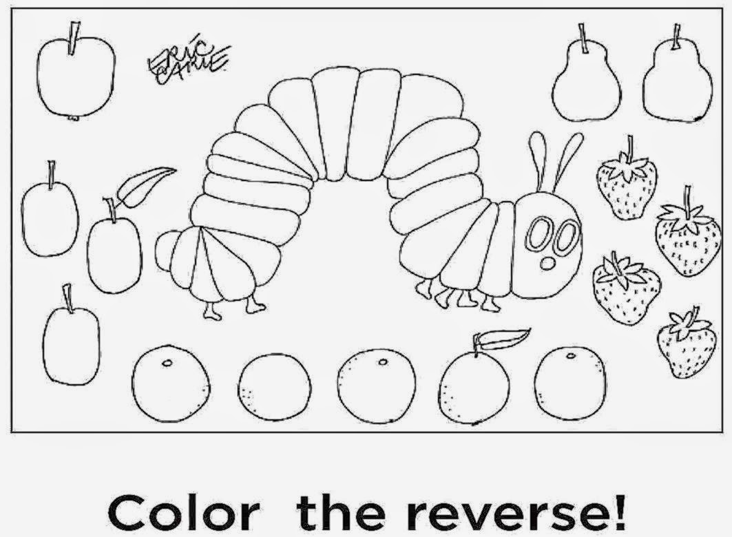eric carle printable coloring pages - photo#4
