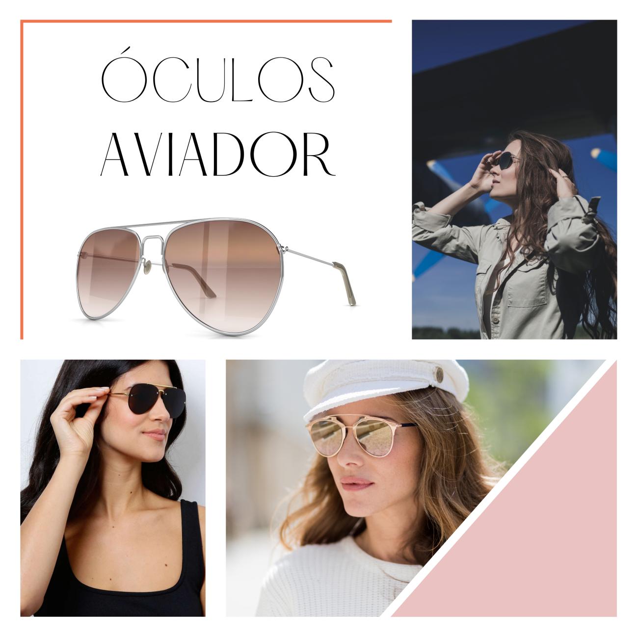 Óculos de sol: conheça os modelos que estão em alta