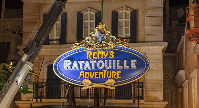 Remy's Ratatouille Adventure.