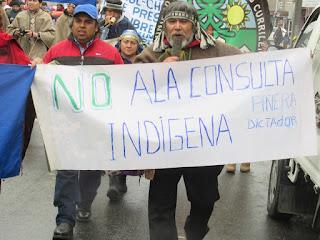 mapuche en marcha