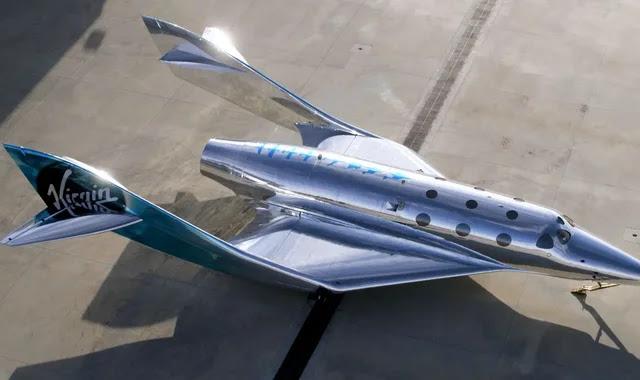 VSS Imagine ... the spaceship from Virgin Galactic