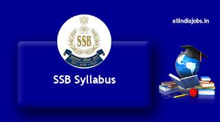 SSB Syllabus