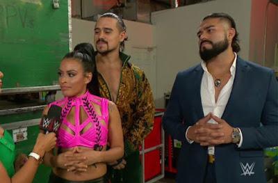 Zelina Vega Raw Tag Team Split Andrade Angel Garza