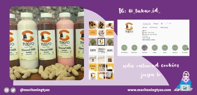 tukuo.id produsen susu almond enak dan sehat