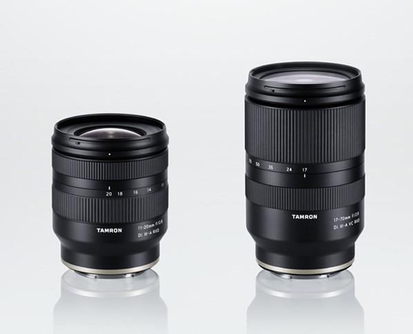 Tamron 11-20mm f/2.8 Di III-A RXD (Model B060) и Tamron 17-70mm f/2.8 Di III-A VC RXD (B070)
