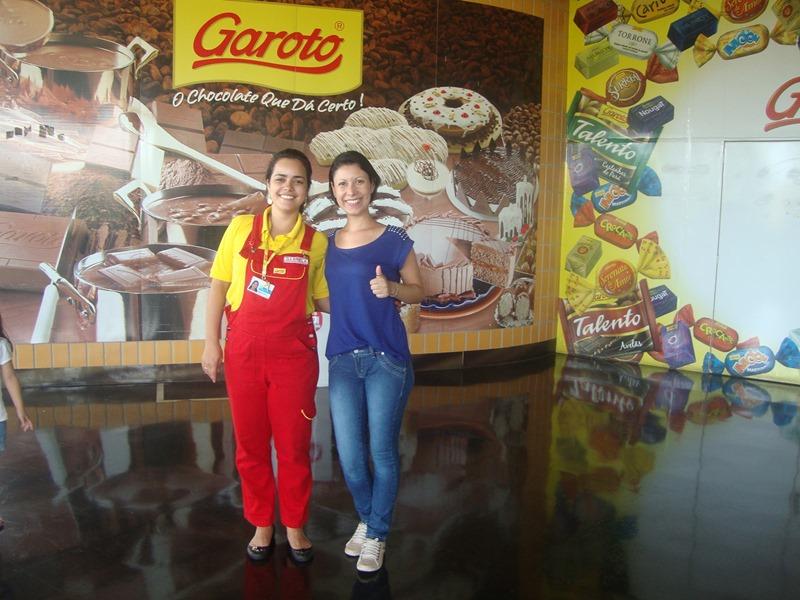 Visite a Fábrica de Chocolates Garoto