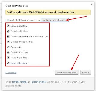 4 - jendela baru untuk clear browsing data google chrome