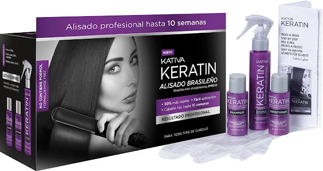 Alisado brasileño Kativa Keratin