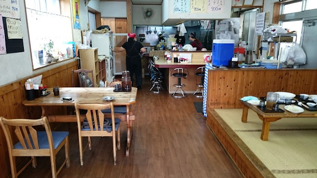 ラーメン食堂一光の店内の写真