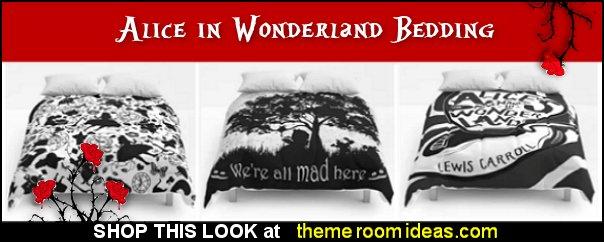 alice in wonderland bedding  alice in wonderland comforters  alice in wonderland duvet covers  alice in wonderland pillows  alice in wonderland bedroom decor