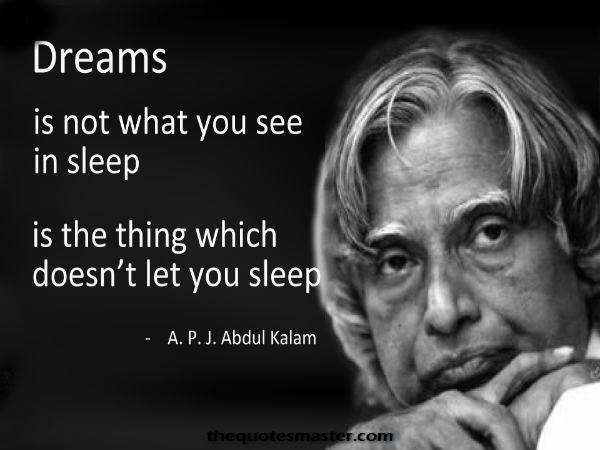 "Abdul Kalam top inspiring Image Quotes and sayings ""missile man of India"""