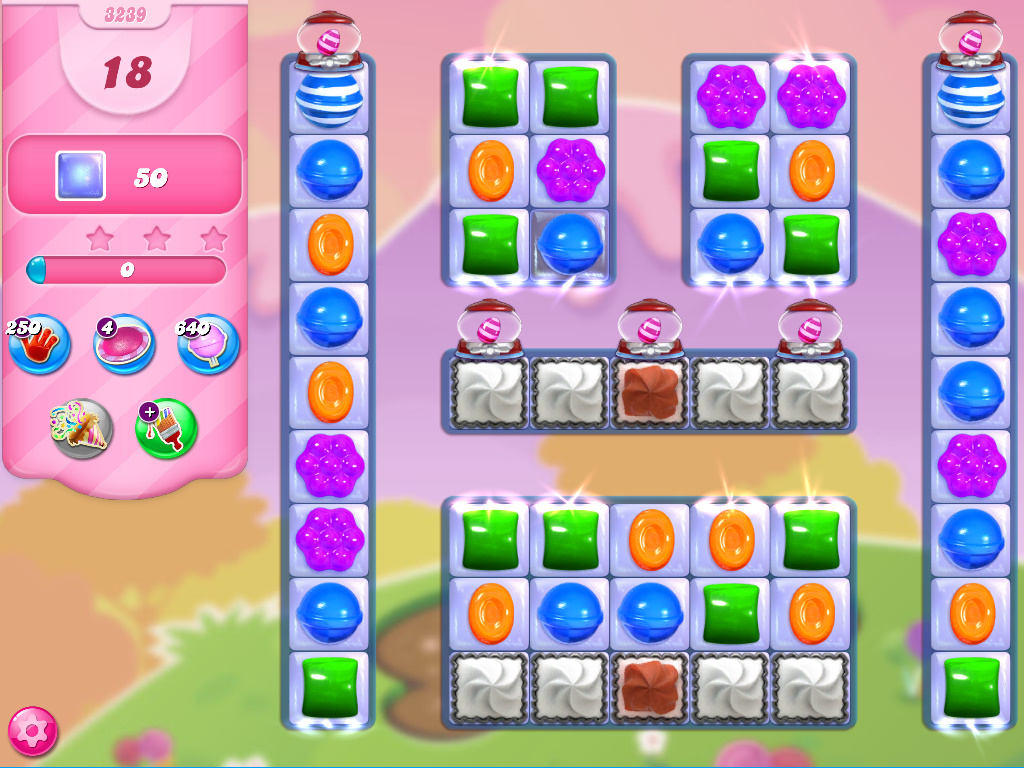 Candy Crush Saga level 3239
