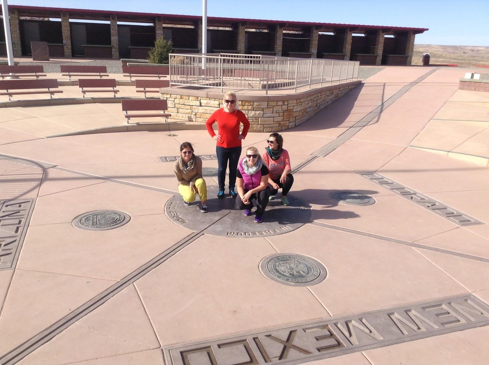 U S Of A Four Corners Utah Colorado New Mexico Amp Arizona
