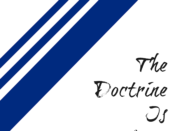 The Doctrine Is Love.