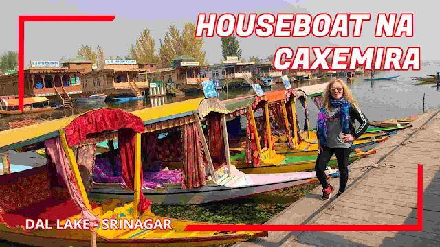 houseboat em Srinagar