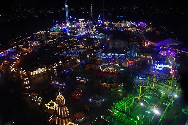 Winter Wonderland Hyde Park View from Wheel