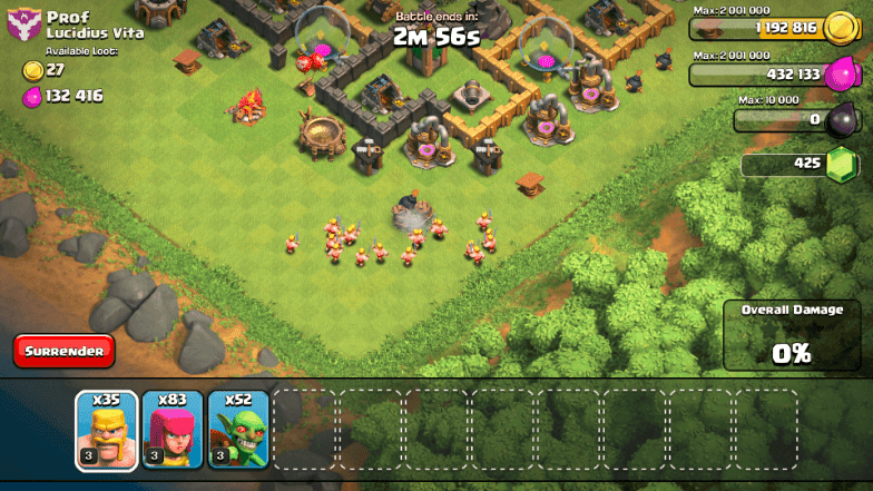 Clash of Clans - Plan of Attack