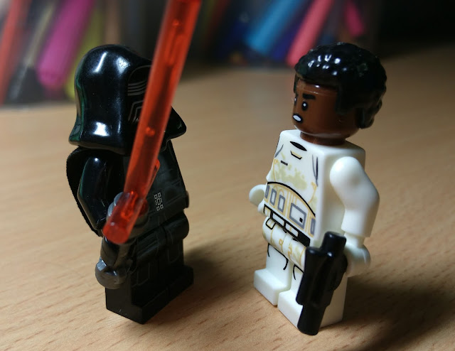 Kylo Ren and Finn, First Order, The Force Awakens, Last Jedi, Star Wars