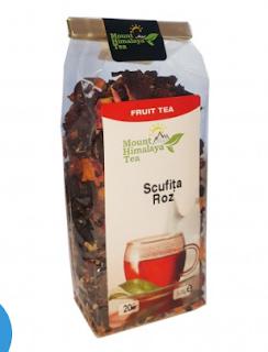 Ceai Scufita Roz – ceai delicios cu fructe bun si pentru copii