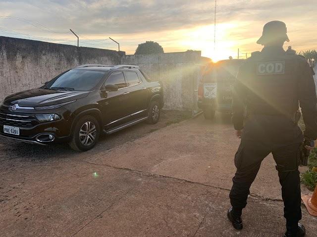 DF: Veículo roubado em Santa Maria é recuperado pelo COD Goiás