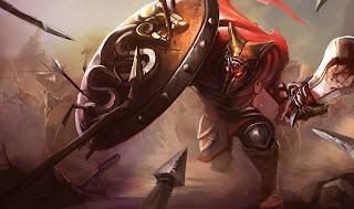 Glaive Warrior Pantheon Skin