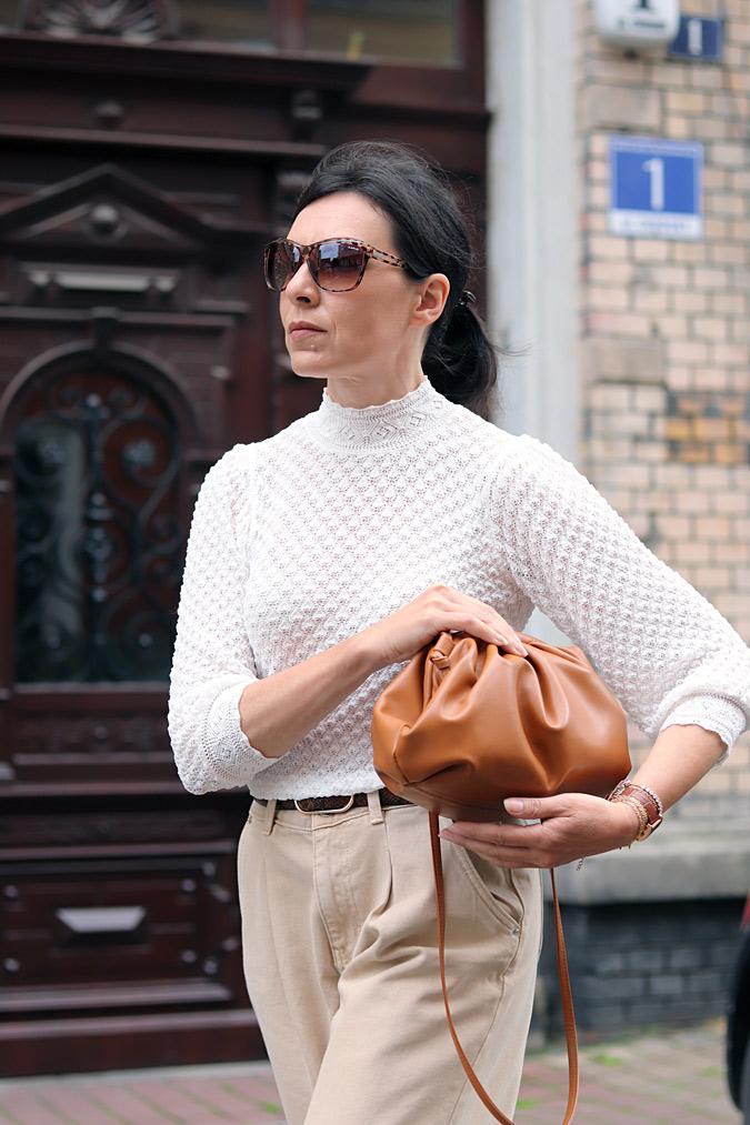 modne torebki marszczone the Pouch Bottega Veneta