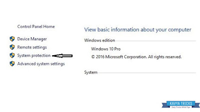 HOW TO CREATE RESTORE POINT IN WINDOWS 10 3