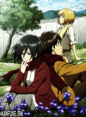 Hubungan Eren dan Mikasa