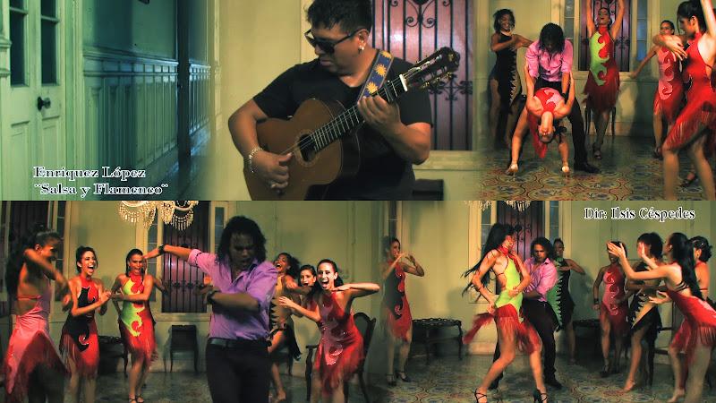 Enrique López - ¨Salsa y Flamenco¨ - Videoclip - Directora: Ilsis Céspedes. Portal Del Vídeo Clip Cubano