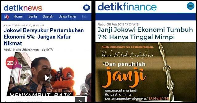Bukan Rakyat yang 'Kufur Nikmat', tapi Jokowi yang 'Kufur Janji'