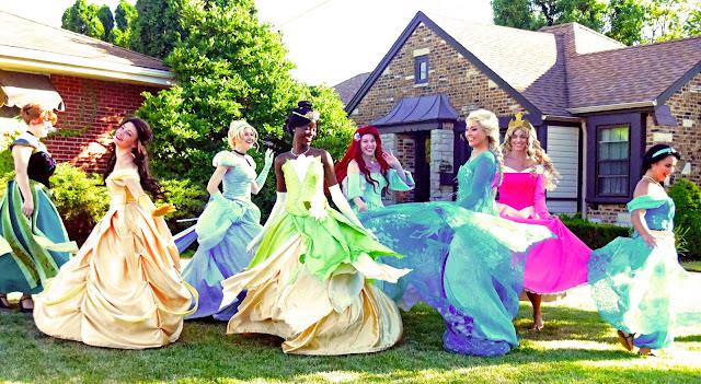 The Princesses of Royal Princess Parties craft fairy tale magic! Image credit Royal Princess Parties.