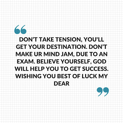 Success In Exam Quotes