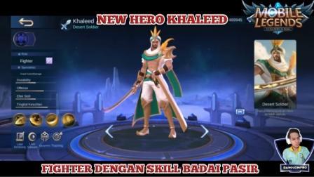 New hero Khaleed