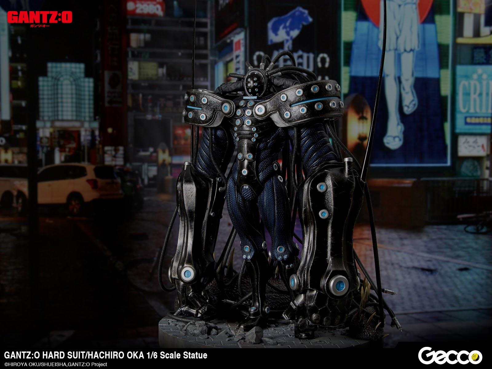 Collecting Toyz Gantzo Hard Suithachiro Oka 16 Scale Statue