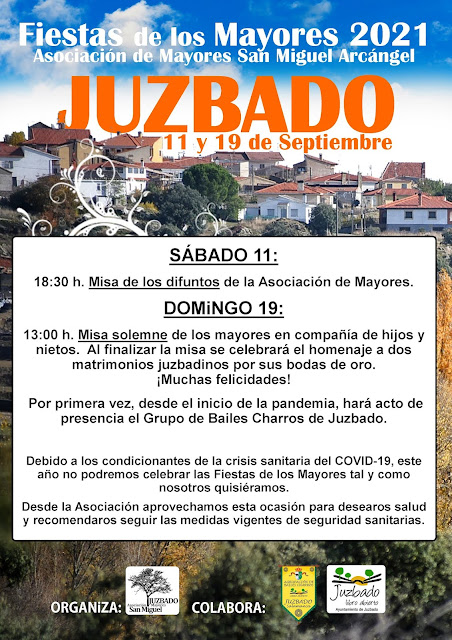 Juzbado, Fiestas de los Mayores 2021