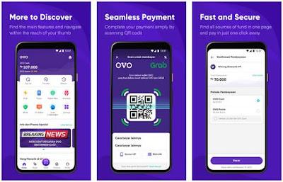 Aplikasi Uang Elektronik - OVO