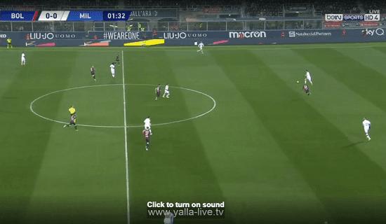 الان مشاهدة مباراة ميلان وبولونيا بث مباشر 08-12-2019 في الدوري الايطالي