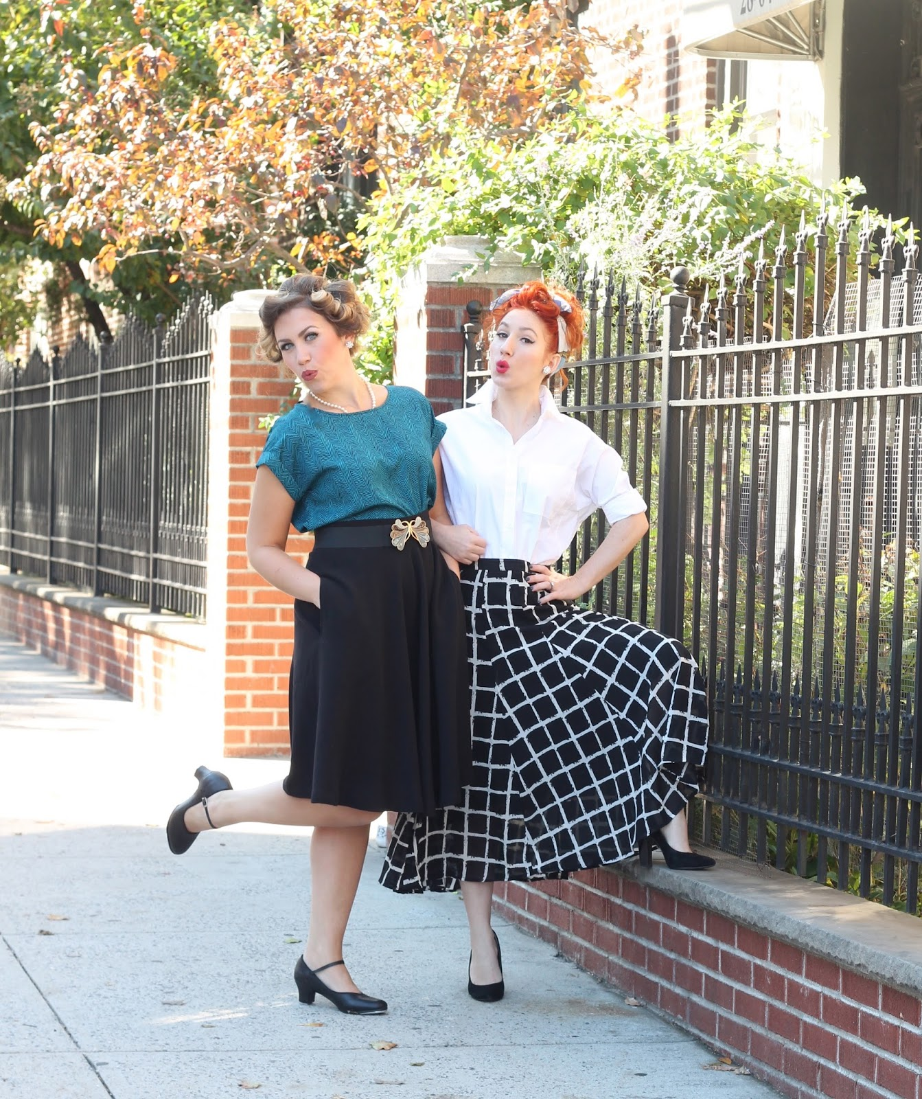 i love lucy costumes for cheap costume ideas lucy ricardo closet costume ideas  sc 1 st  TfDiaries By Megan Zietz & 3 Costume Ideas for You and Your Bestie From Your Closet | TfDiaries ...
