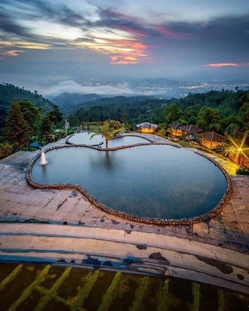 Sunset Umbul Sidomukti Semarang